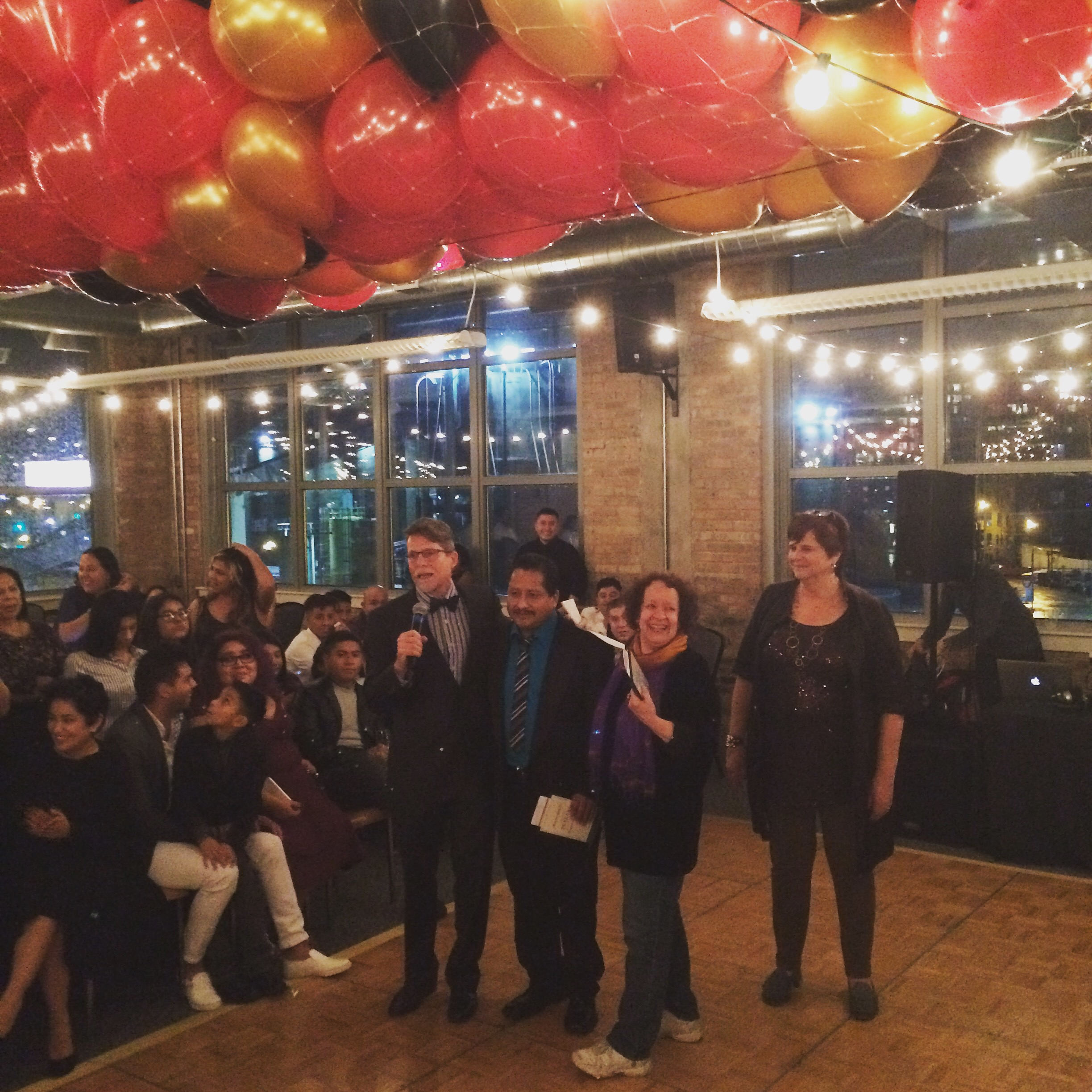 3rdarm arthur mullen chicago xoco holiday party casey cora roly poly cat dawn sunrise