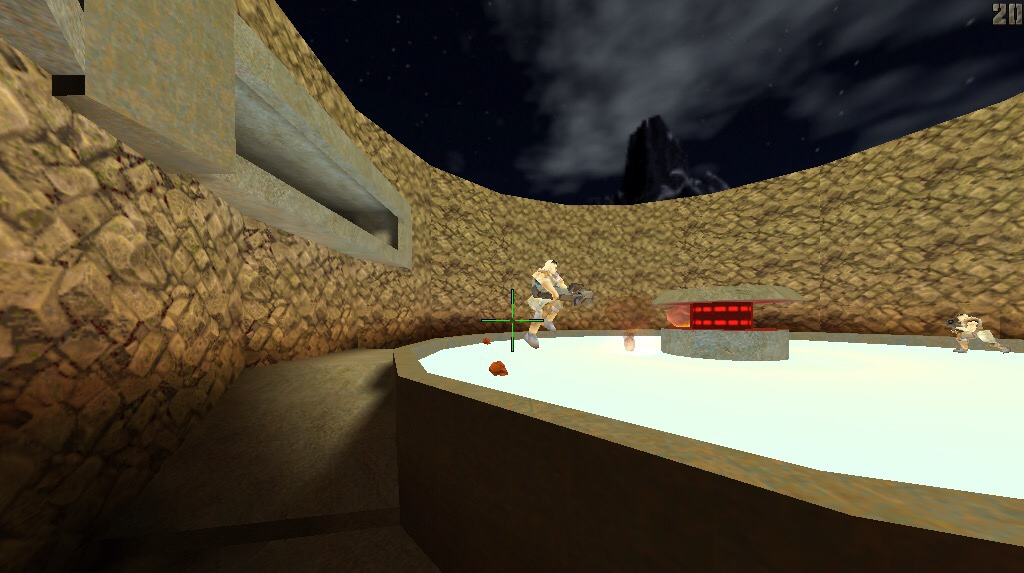 gibs on ice rocket arena quake2 tastyspleen ra2 ra2map q2 reefer 3rdarm giblets railgun