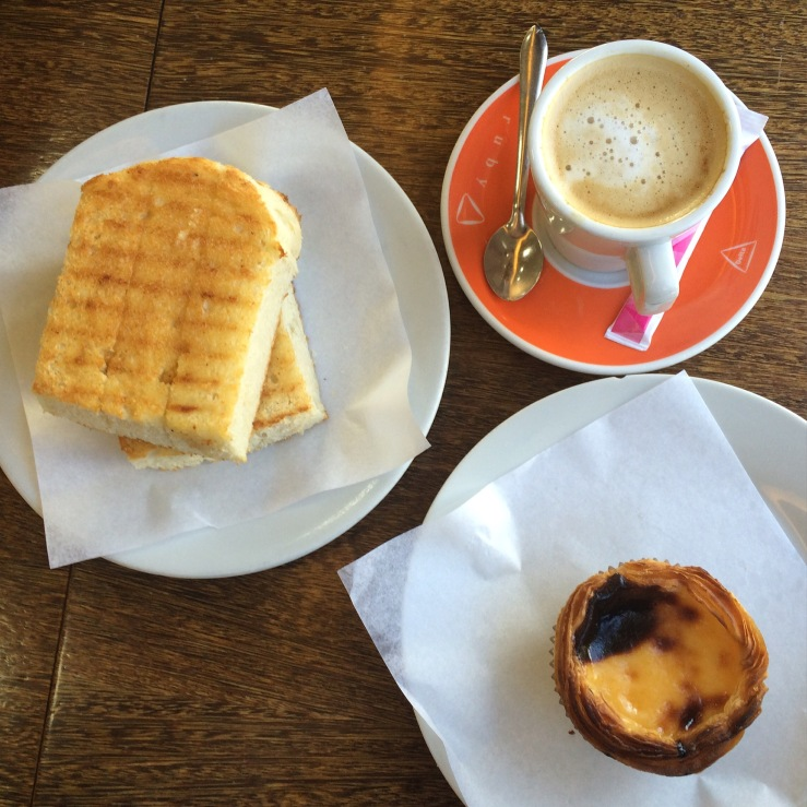pastel de nata Pérola do Mar matosinhos porto portugal 3rdarm coffee cafe
