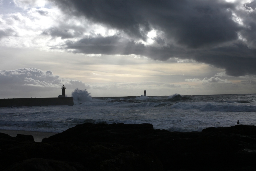 foz do douro fortaleza felgueiras lighthouse praia do ourigo granite lady of light porto portugal 3rdarm