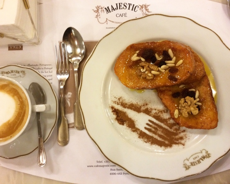 rabanadas majestic style porto portugal 3rdarm french toast cafe con leche art nouveau