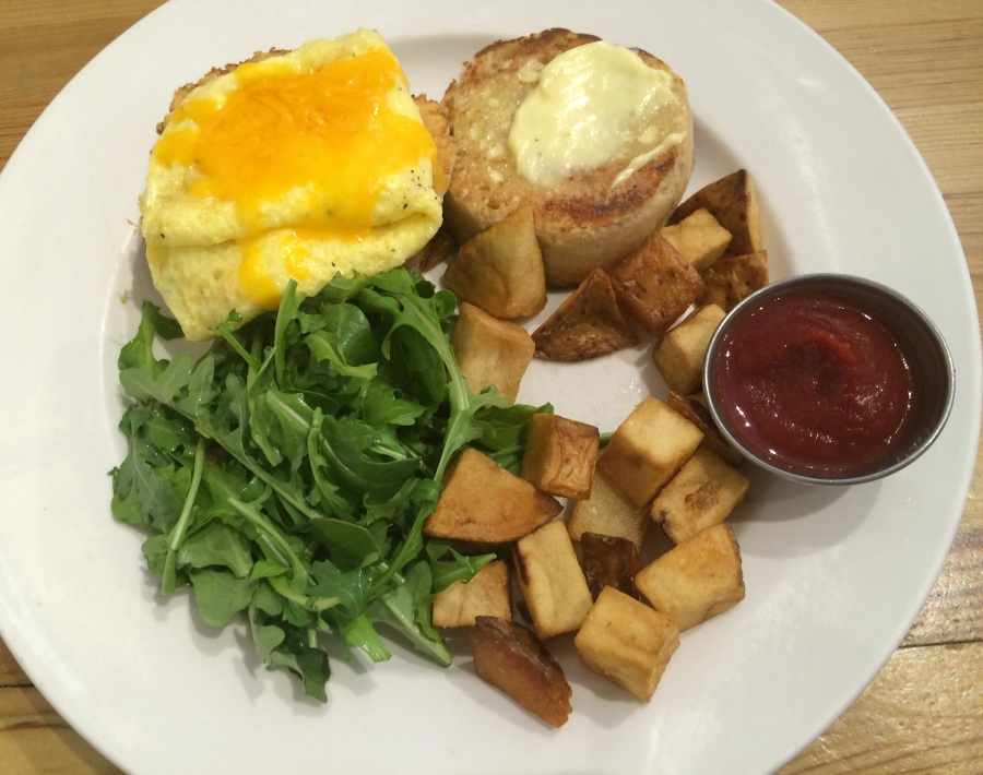 nana homemade english muffin chilaquiles bridgeport chicago breakfast brunch eggs 3rdarm