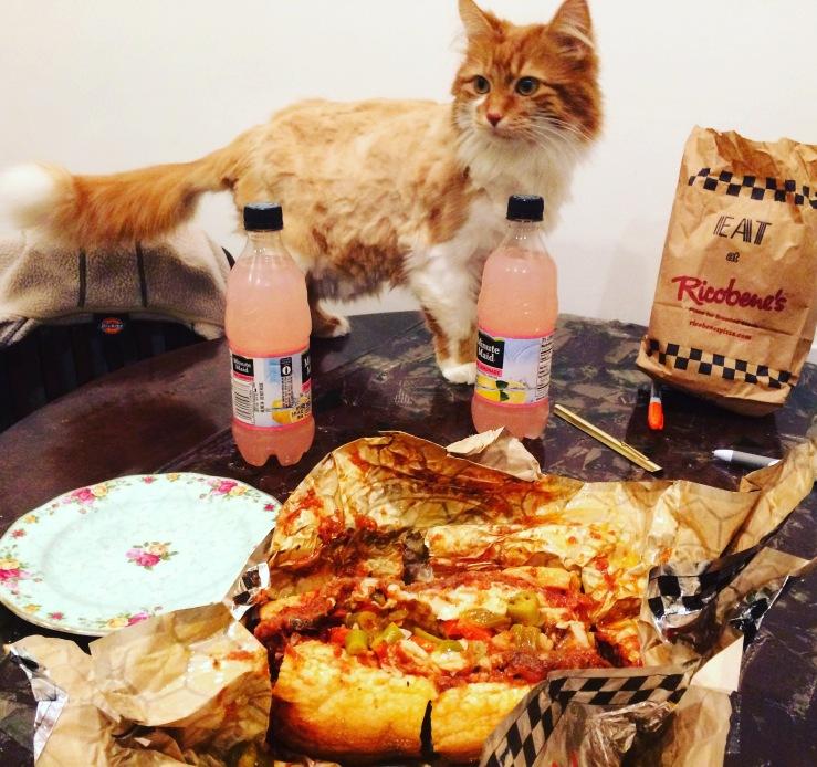 ricobenes anthony bourdain arthur mullen mashed potatoes 5 rabanitos pilsen bridgeport breaded steak sandwich roly poly cat pink lemonade 3rdarm